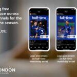 El Chelsea ayuda a los negocios locales con publicidad gratuita